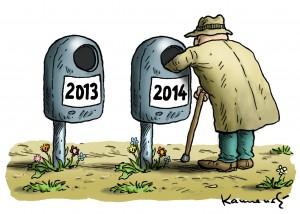 Sollen Hartz IV-Opfer weiter Flaschen sammeln, um den Strom bezahlen zu können? - Copyright: Marian Kamensky, http://www.humor-kamensky.sk